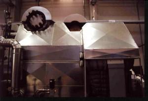 Wärme-Schallisolierung einer Dampfturbine